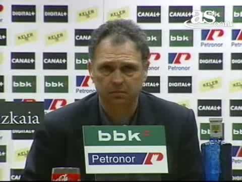 Entrevista de Prensa a Joaquín Caparrós (Athletic-Real Madrid)