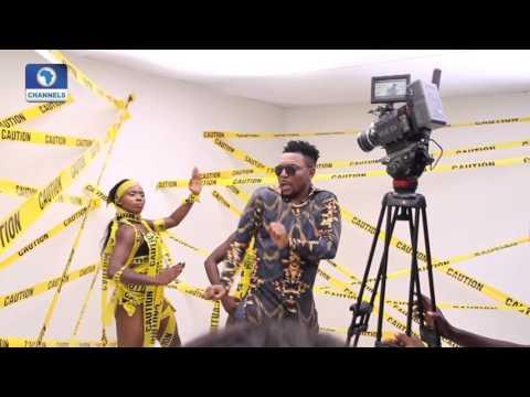 EN: OritseFemi's Music Video BTS 'Mr Gomina'