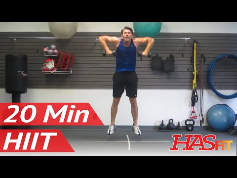 HASfit Warrior 20 Minute Workout Part 3 of 3 | BEST Home Fitness Training Exercises | HIIT