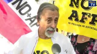 Cerca de dos millones de personas exigen el fin de las AFPs