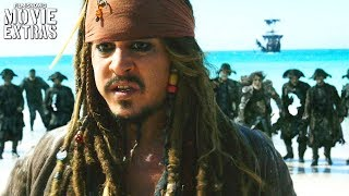 Pirates of the Caribbean: Dead Men Tell No Tales release clip compilation (2017)