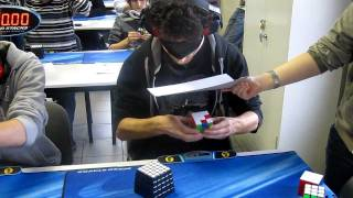 How Can This Possible: Rubik's Cube Blindfolded Solving - 28.80s