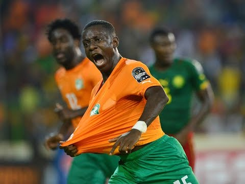 Best goal celebrations Orange AFCON 2015