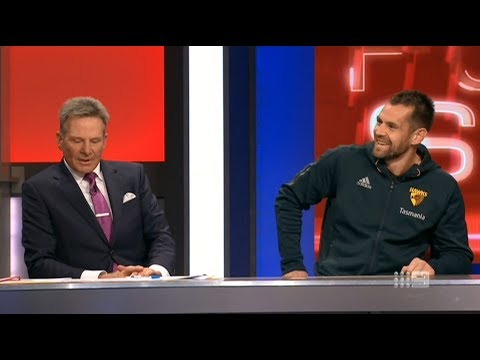 Luke Hodge On The AFL Footy Show (13 July 2017)