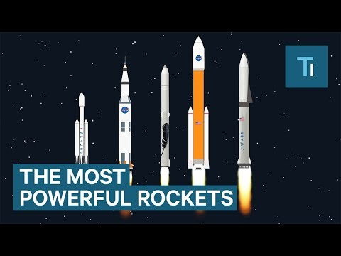 How NASA, SpaceX, and Blue Origin's Monster Rockets Compare