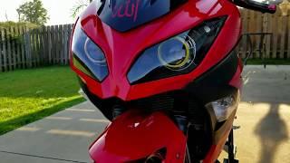 8. Kawasaki Ninja Review + Modifications! [Passion Red]