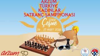 2016 Arzum Türkiye Kadınlar Satranç Şampiyonası Tur 1