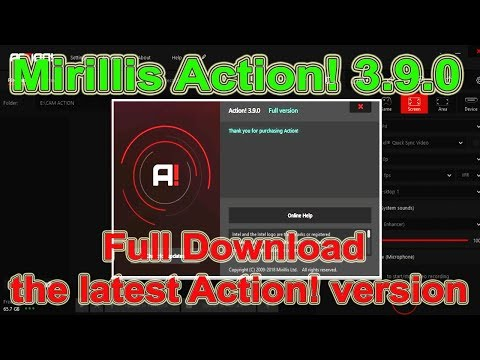 Mirillis Action! 3.9.0 - Download the latest Action! Full version