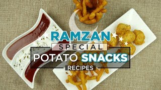 6 must try Potato snacks recipes by Food Fusion (Ramzan special Iftar Recipes)