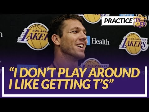 Video: Lakers Nation Interview: Luke Walton Talks About the Reason He Got A Technical in Last Nights Game