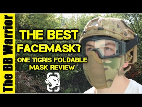 The Best Face Mask in Airsoft? | One Tigris Foldable Facemask Review