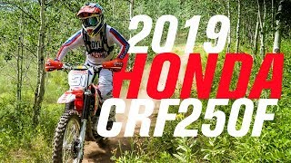 2. 2019 Honda CRF250F | Bike Overview