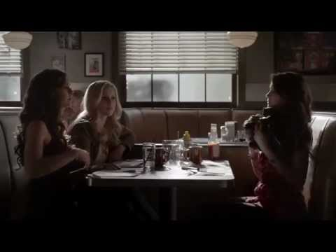 "Vampire Diaries 4x18 American Gothic - Elena/Katherine/Rebekah ""I'm gonna need your clothes"""