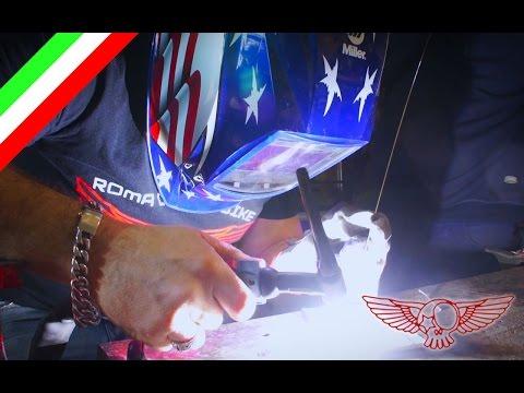 Saldatura TIG dell'alluminio, cosa è e come si fa - ep28 - Roma Custom Bike