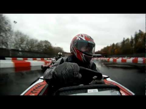 The excitement of go-karting at Tyke Racing