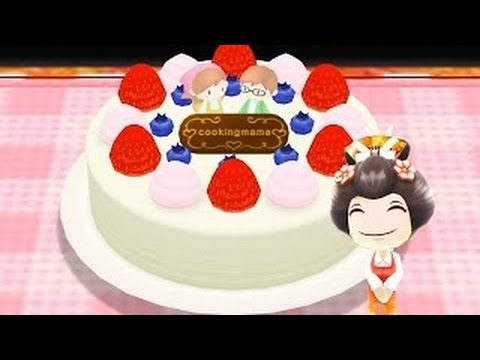 How To Make Decorated Cake Learn To Cook With Cooking MaMa Cartoon For Kids Children Toddl