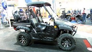 6. 2013 Yamaha Rhino 700FI Special Edition - 2012 Salon National du Quad - Off Road Vehicles Show