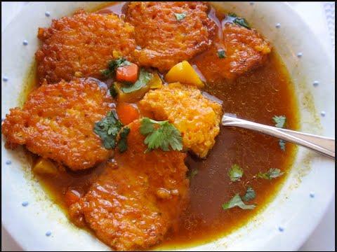 Garela Pulusu Recipe ( Fritter Stew ) - Aha Emi Ruchi