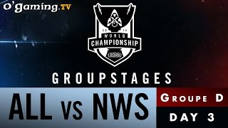 World Championship 2014 - Groupstages - Groupe D - ALL vs NWS