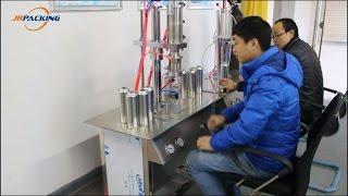1600D Under Cap Vacuum Refrigerant Filling Machine Operation Video 1600D Under Cap Vacuum Refrigerant Filling Machine General Description: 1600D is a small a...
