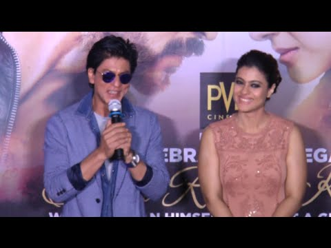 Shah Rukh Khan Pokes Fun At A Reporter At New Dilw
