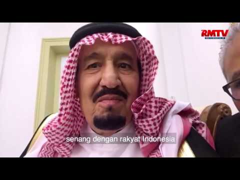 Sedang Asyik Makan, Raja Salman Diajak Jokowi Nge Vlog