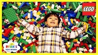 Video MILLIONS OF LEGO Giant Life Size Disney Cars LEGO KIDFEST Family Fun Children Activities Kids Toys MP3, 3GP, MP4, WEBM, AVI, FLV Juni 2017