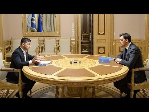 Στη θέση του ο πρωθυπουργός της Ουκρανίας