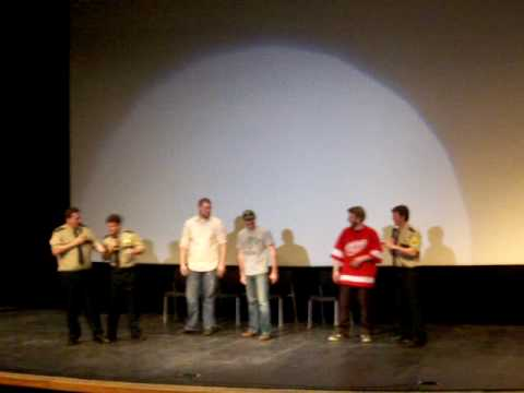 Broken Lizard @ UAA pt 1 [Super Troopers sketch]