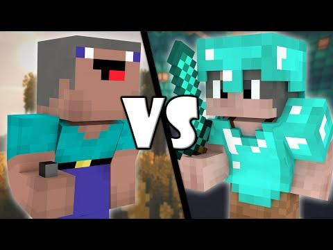 Old Noob Vs Old Pro - Minecraft