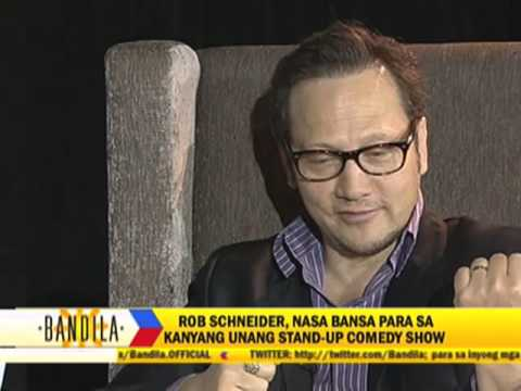Rob Schneider promises to return to Philippines