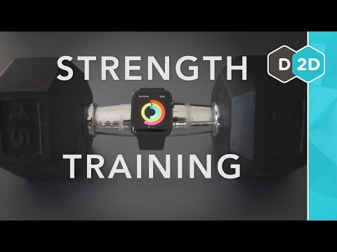 Strength training with the Apple Watch