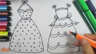 Xin chào các em nhỏ yêu dấu ^^! Đồ chơi trẻ em : vẽ và tô màu 2 bộ váy công chúa xinh đẹp / Ami Channel Hãy đăng ký ngay để...