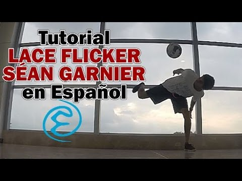 Levantada Séan Garnier (Lace Flicker) - Tutorial Freestyle Football
