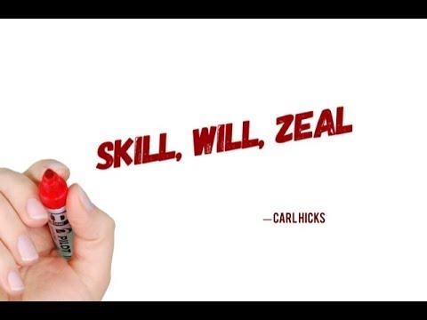Skill, Will, Zeal