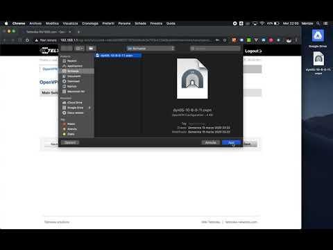 Teltonika Configurazione client OpenVPN