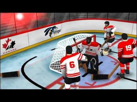 Video of Team Canada Table Hockey