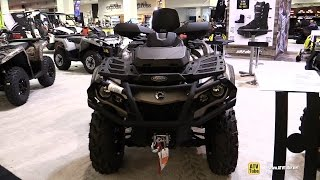 9. 2015 Can-am Outlander 1000 Max Limited - Walkaround - 2014 Toronto ATV Show