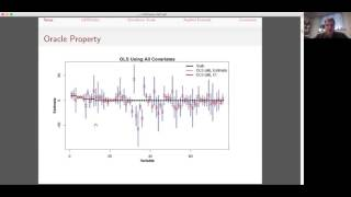Marc Ratkovic: Sparse Estimation and Uncertainty with Application to Subgroup Analysis