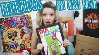 RECEBIDOS PARA CASA NOVA - YouTube