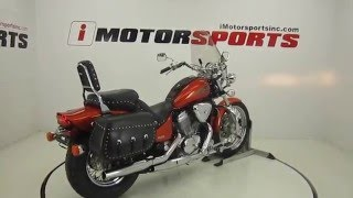 10. 2005 Honda Shadow VLX Deluxe @ iMotorsports - A1643