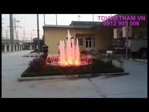 Đài phun nước bể tròn Cụm công nghiệp Yên Nghĩa - Hà Nội