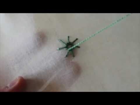 ricamo - il punto ragno