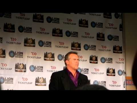Bruce Campbell Q&A Panel Wizard World Portland Oregon Comic Con 2013 PART 2 of 2