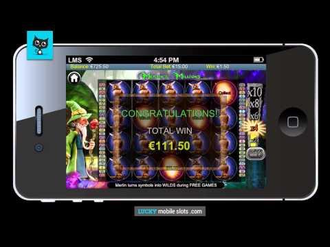 Merlin's Millions Mobile Slot Review
