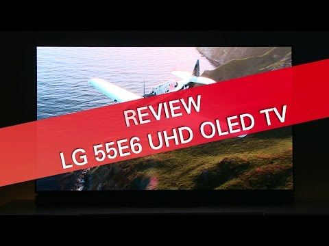 LG 55E6 E6 OLED HDR UHD TV review