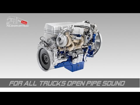 For All Trucks Open Pipe Sound 1.28