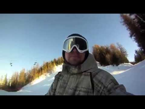 Funny video: Snowboarder Matt Sharples sings his way down the slopes