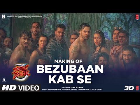 Making Of Bezubaan Kab Se | Street Dancer 3D | Varun D | Siddharth B, Jubin N, Sachin-Jigar