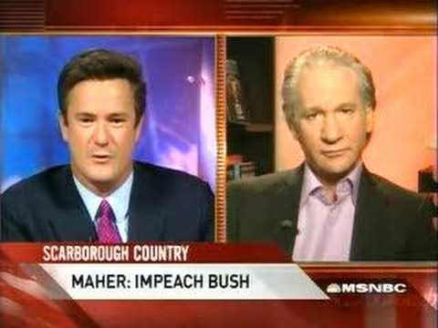 Bill Maher: Bush Should be Impeached for 9/11, Iraq, Fascism